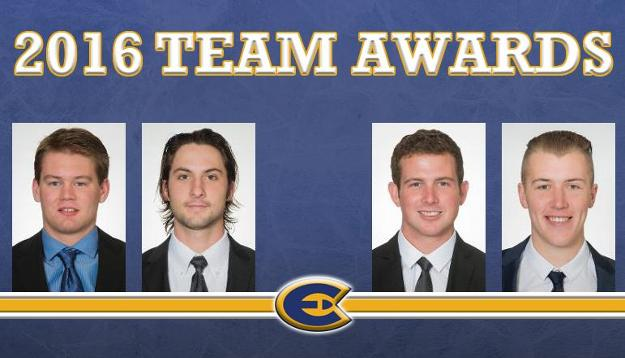 Men's Hockey announces team award winners