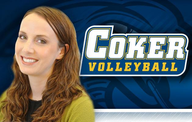 Allison Stack Named Volleyball Coach at Coker College