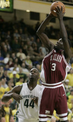 Santa Clara Edged By Oregon