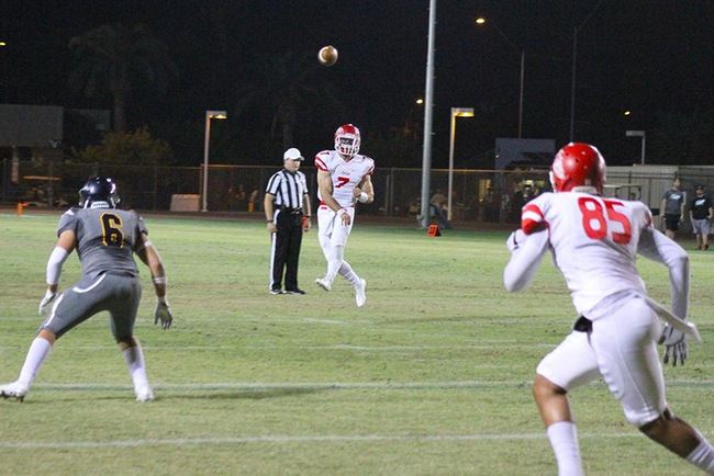 Mesa Football Powers Through PC Bears, 60-27