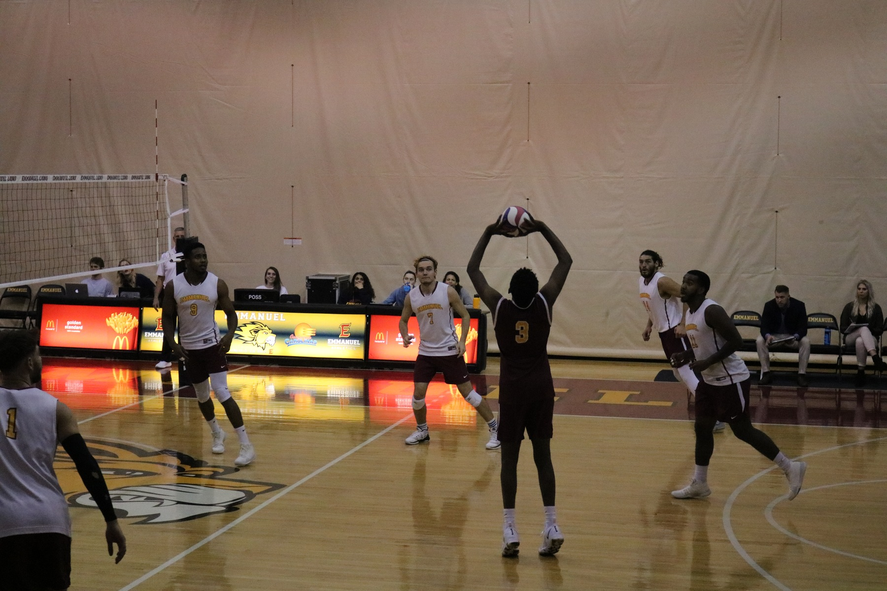 Men's Volleyball Falls to Conference Foe Mount Olive