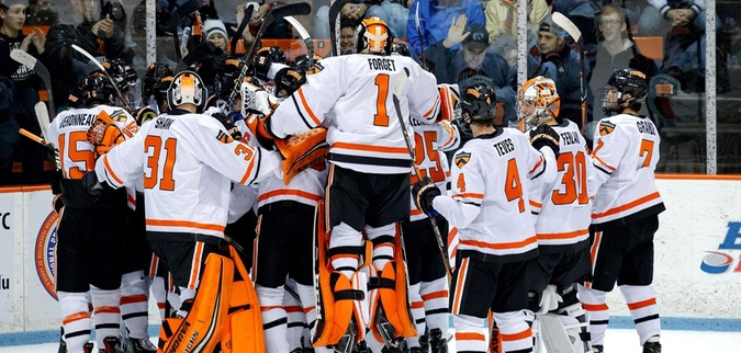 Topatigh OT goal leads Princeton Past No. 12 Union