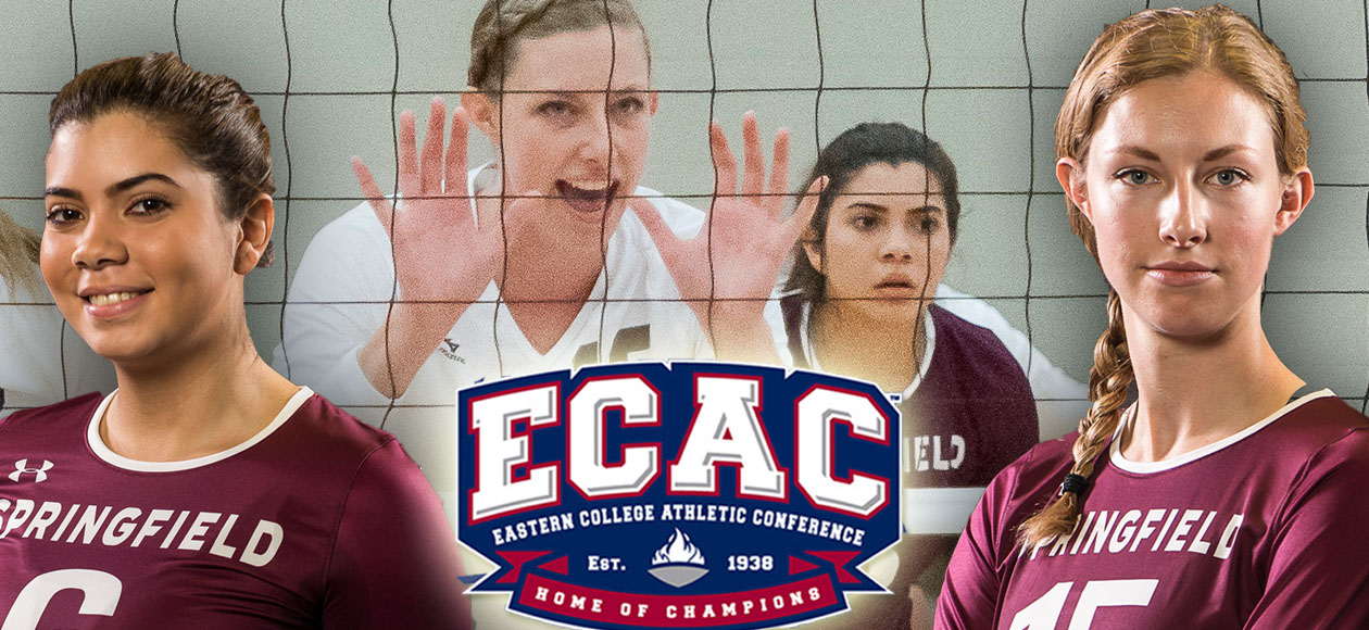 Holt and Sanchez Earn ECAC Division III Women's Volleyball Regional Honors