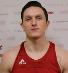 Andrew Wood, Track & Field