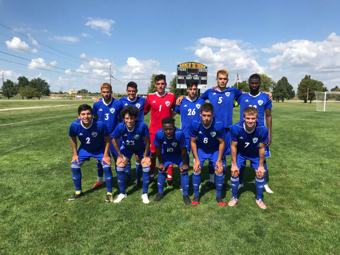 Reiver men's soccer drops second conference game