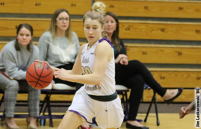 Anderson's Late Basket Pushes Women's Basketball Past Roberts Wesleyan, 70-69