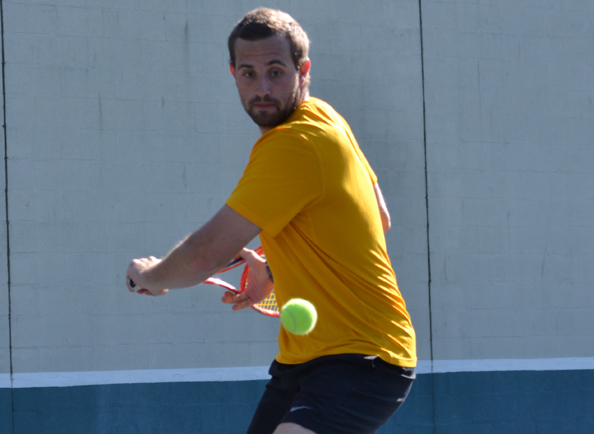 No. 6 Concordia Men's Tennis Concludes CACC Schedule with 9-0 Win over Philadelphia