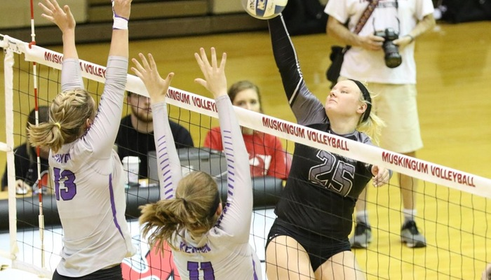 19th-ranked Volleyball aces Wilmington