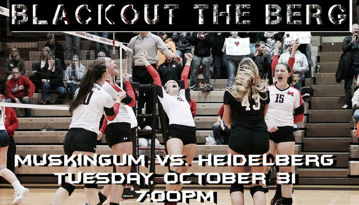 Volleyball hosts Heidelberg in OAC Tournament play