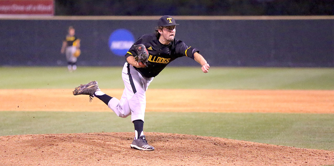 Matthew Hickey, Texas Lutheran University, Pitcher of the Week (Week 12)
