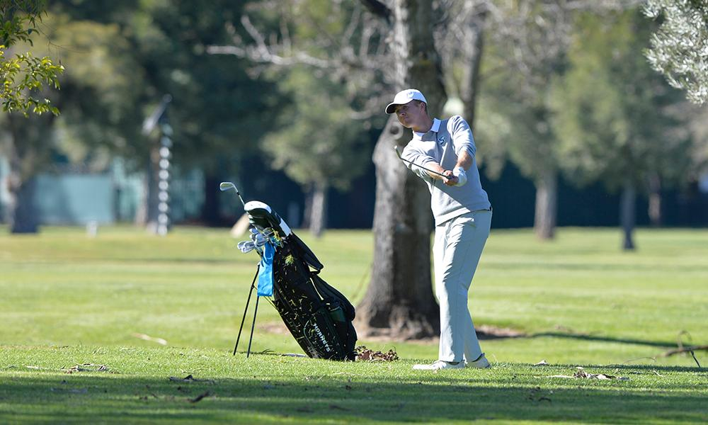 CARR, BELL TIED FOR TEAM LEAD AT OLYMPIC CLUB INTERCOLLEGIATE