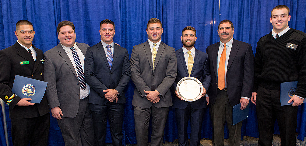 Maine Maritime Student-Athletes Honored at Student Life Awards Banquet