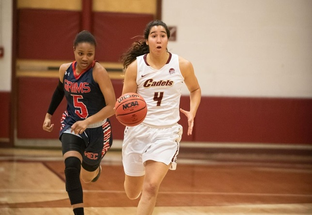 Women's Basketball: Cadets fall at Bates, 65-50