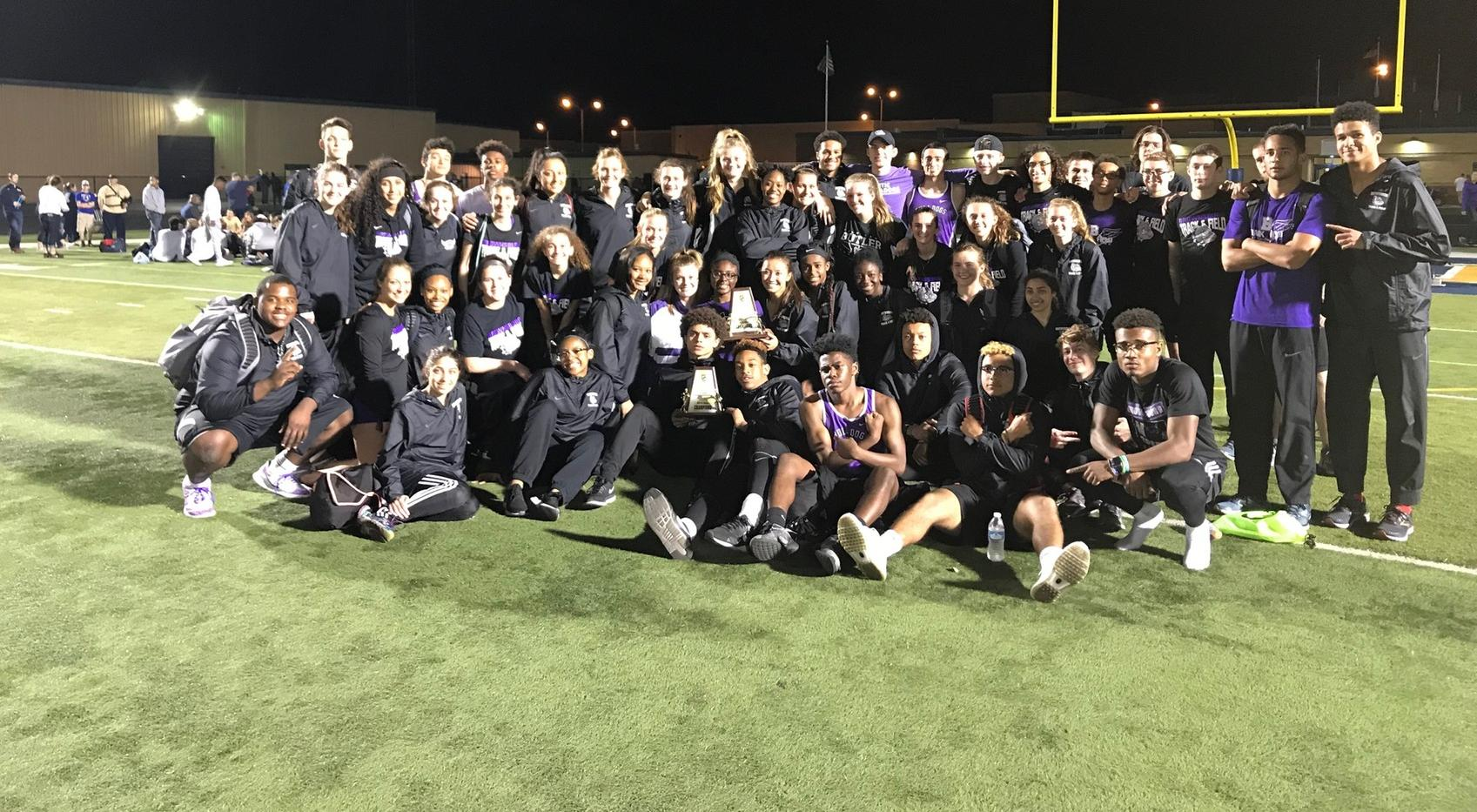 Boys & Girls' T&F Win Decatur Invite
