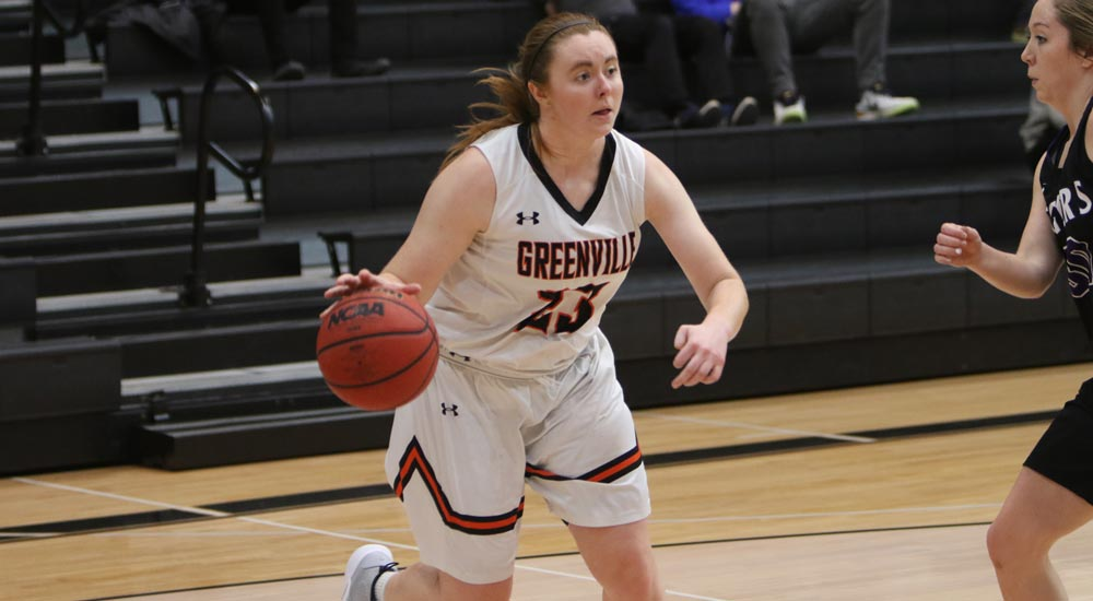Women's basketball takes SLIAC control with 83-62 win at Westminster