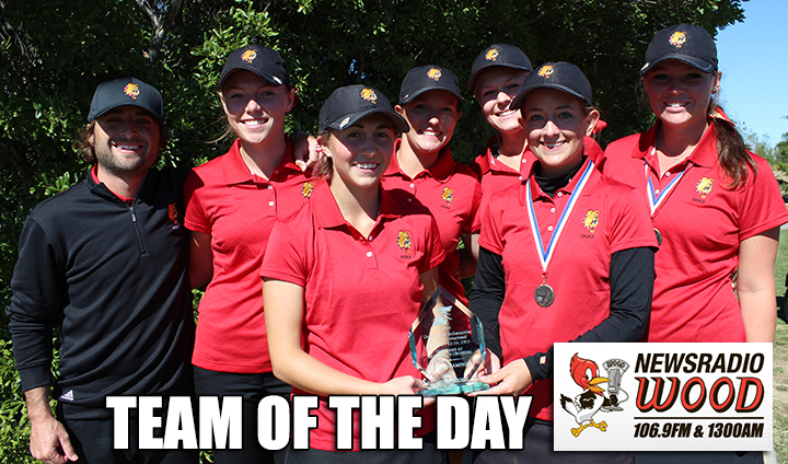 "Ferris State Women's Golf Earns Wood Radio ""Team Of The Day"" Honors"