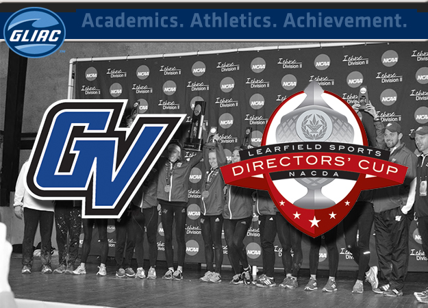GVSU Leads Division II Learfield Sports Directors' Cup