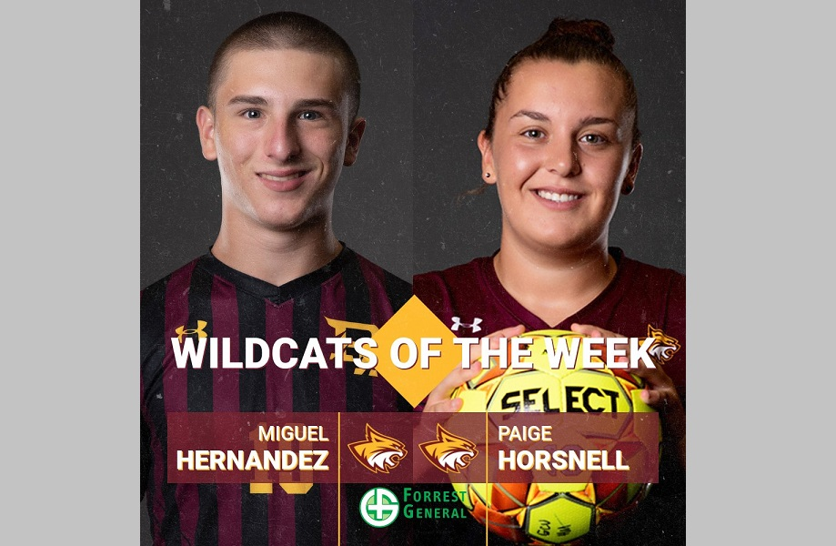 PRCC Soccer standouts named Forrest Health Wildcats of the Week