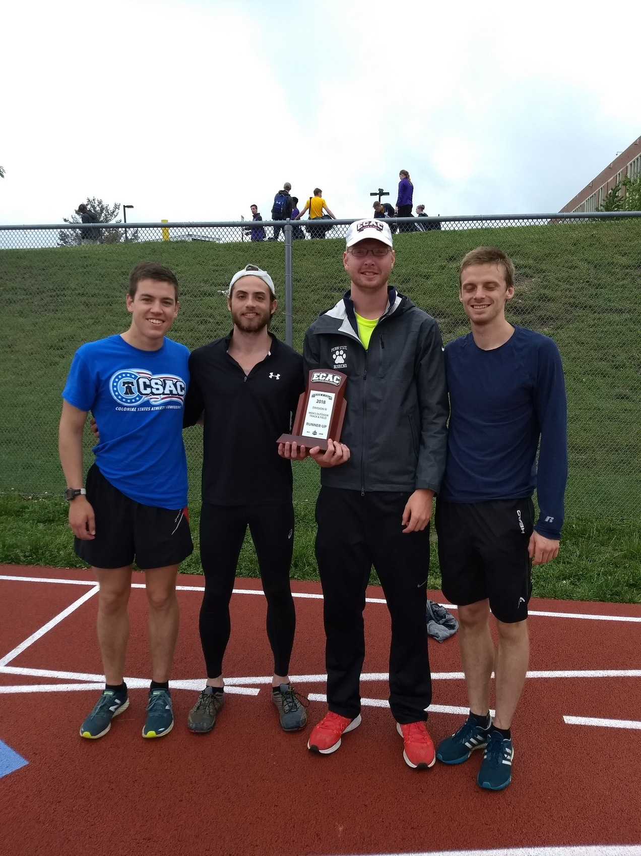 Men's Track & Field Claims Runner-Up Trophy at ECAC Championships