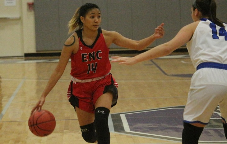 Women's Basketball Earns Come-from-Behind Win at New England College