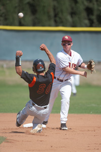 Stags Lead Nation In Double Plays