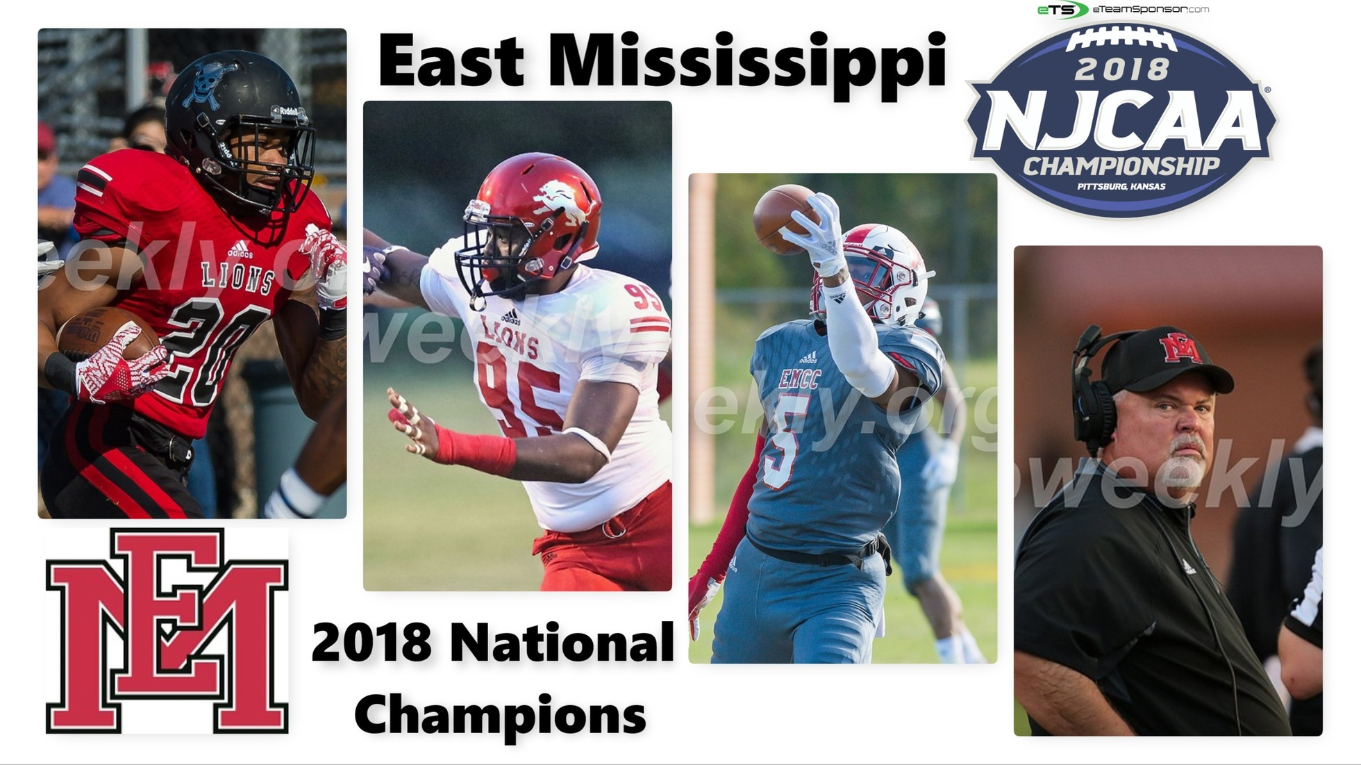 East Mississippi defeats Garden City to win 5th National Championship Title