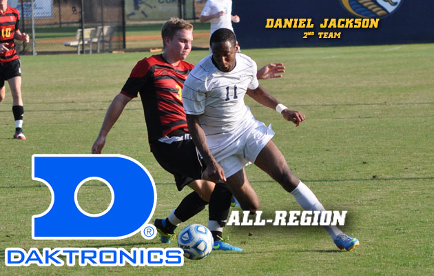 Jackson Named Second Team All-Region by Daktronics