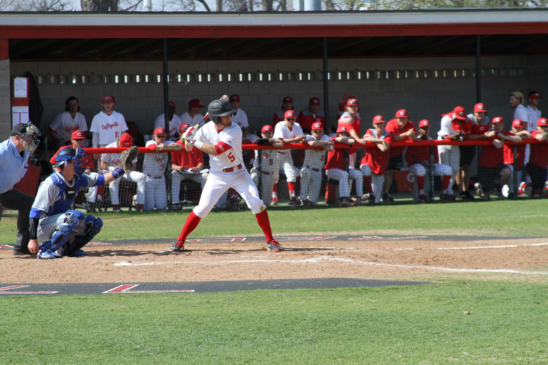 Red Raven Baseball Lose Both Ends of Home Double Header Against Neosho, 4-3 & 3-1