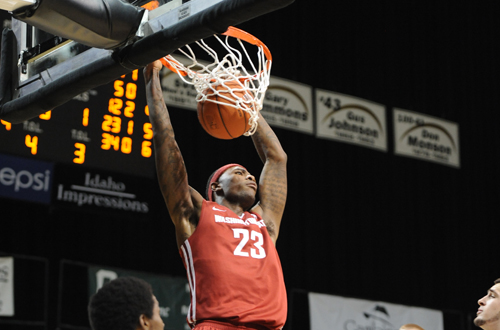 Former Owl DJ Shelton is playing in the NBA Summer League with the Atlanta Hawks. Photo Courtesy of the Washington State University Sports Information Office