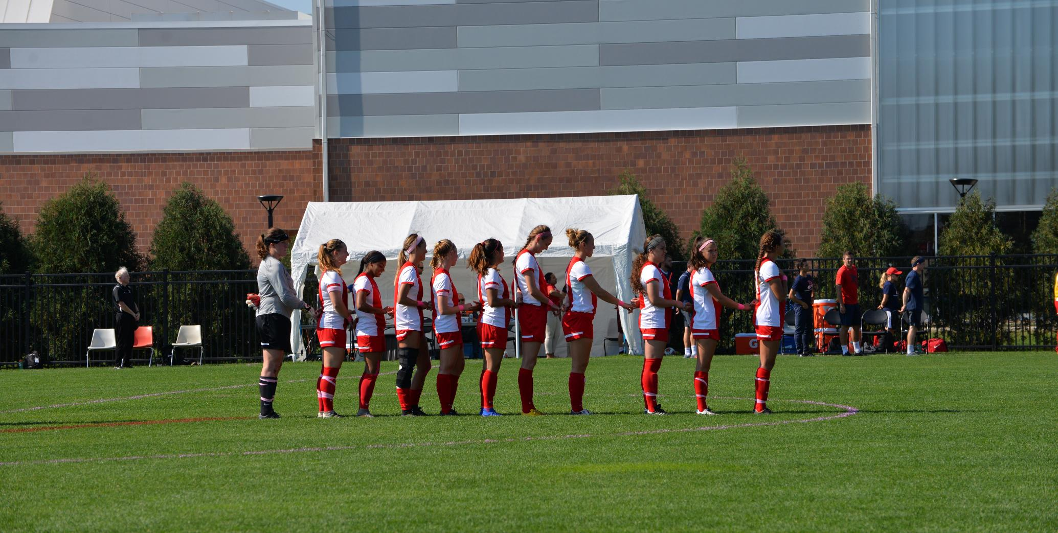 Women's Soccer Falls to No. 2 Ranked Grand Valley State