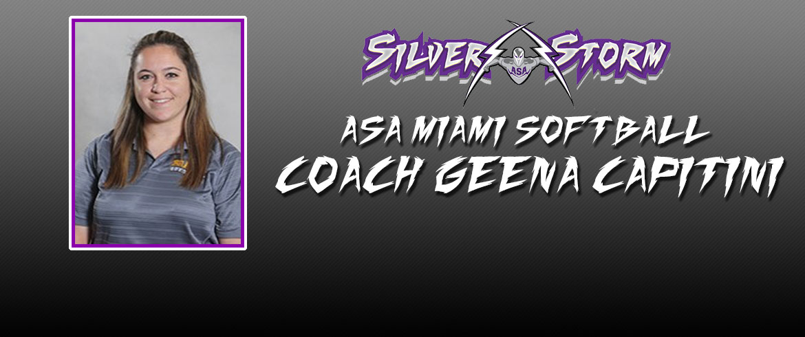 ASA Miami Announces New Softball Coach; Geena Capitini