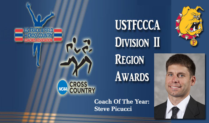 Steve Picucci Tabbed As Men's Cross Country Regional Coach Of The Year