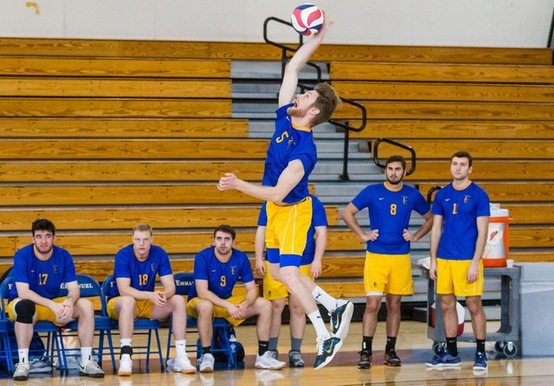 MEN'S VOLLEYBALL SPLITS WITH CAL LUTHERAN & LESLEY