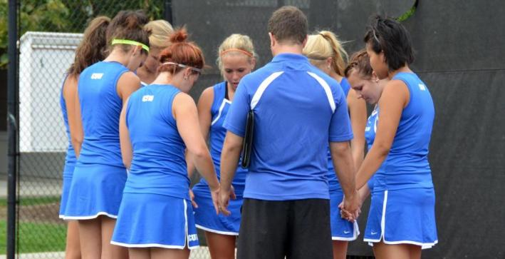 Women's Tennis season ends against WLC in NAC Tournament Semifinals