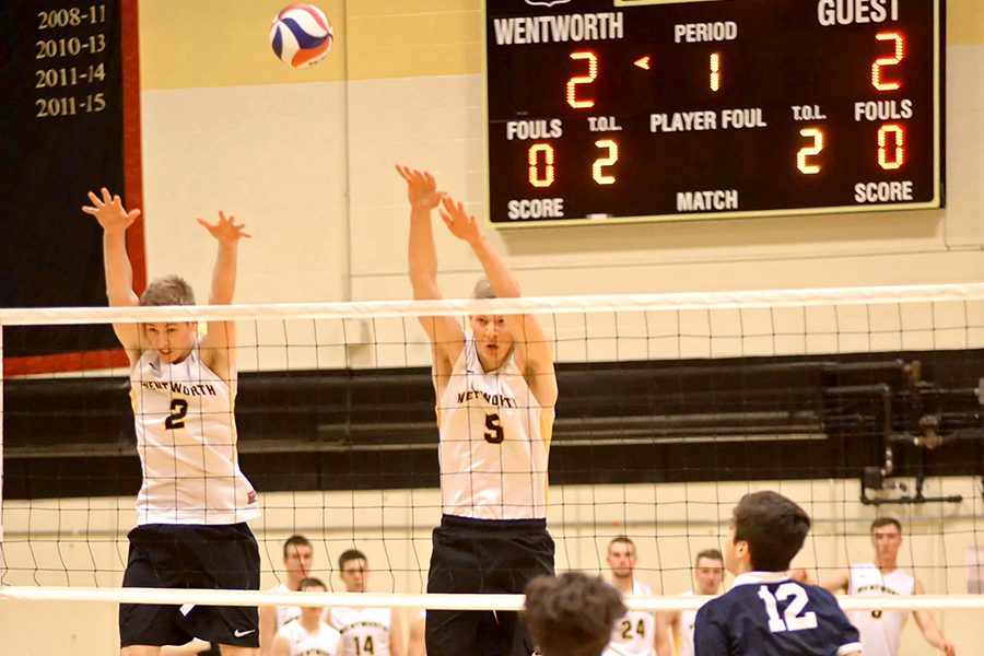 Men's Volleyball Suffers First Loss