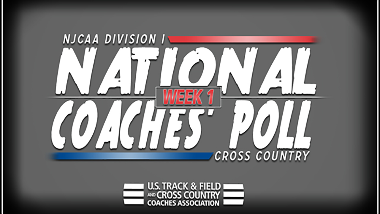2018 NJCAA Division I Cross Country National Coaches' Poll – Week 1