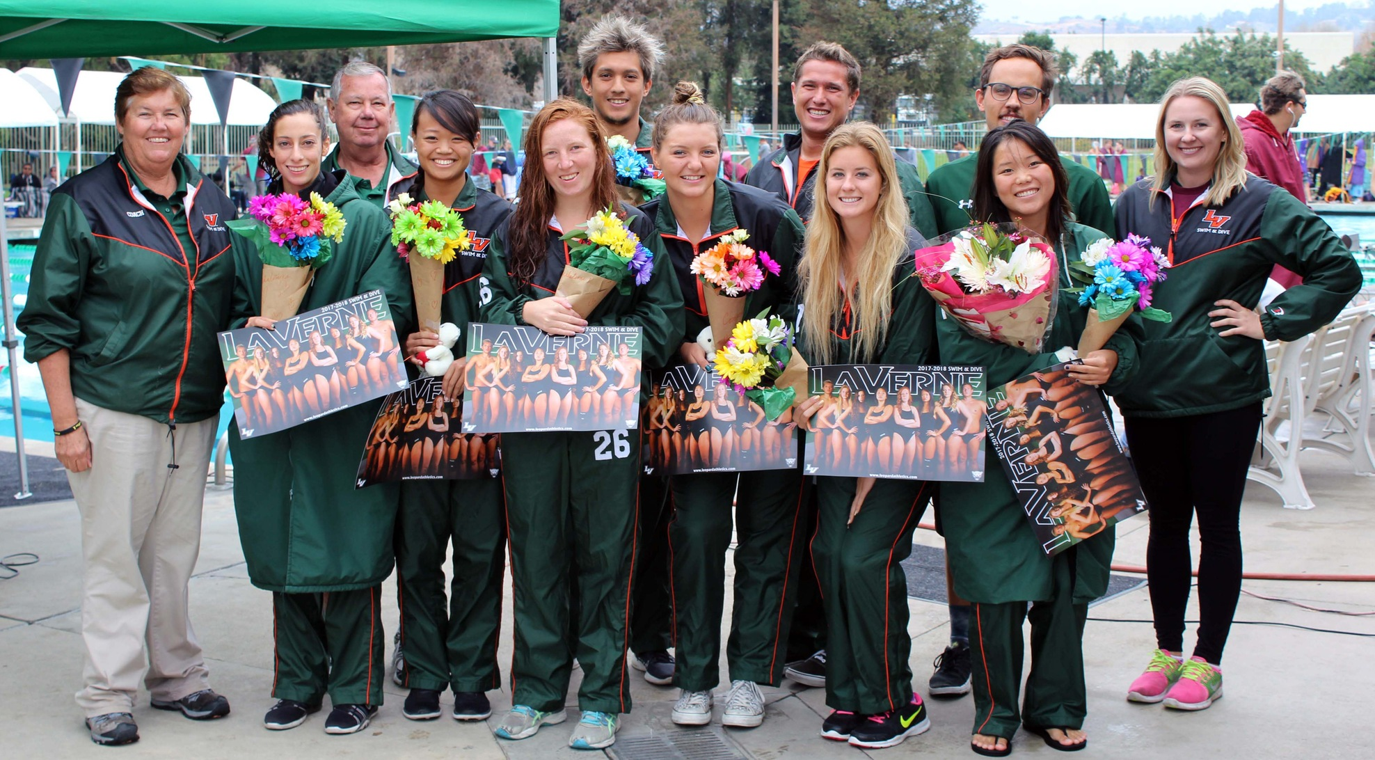 Swim and Dive celebrates senior day