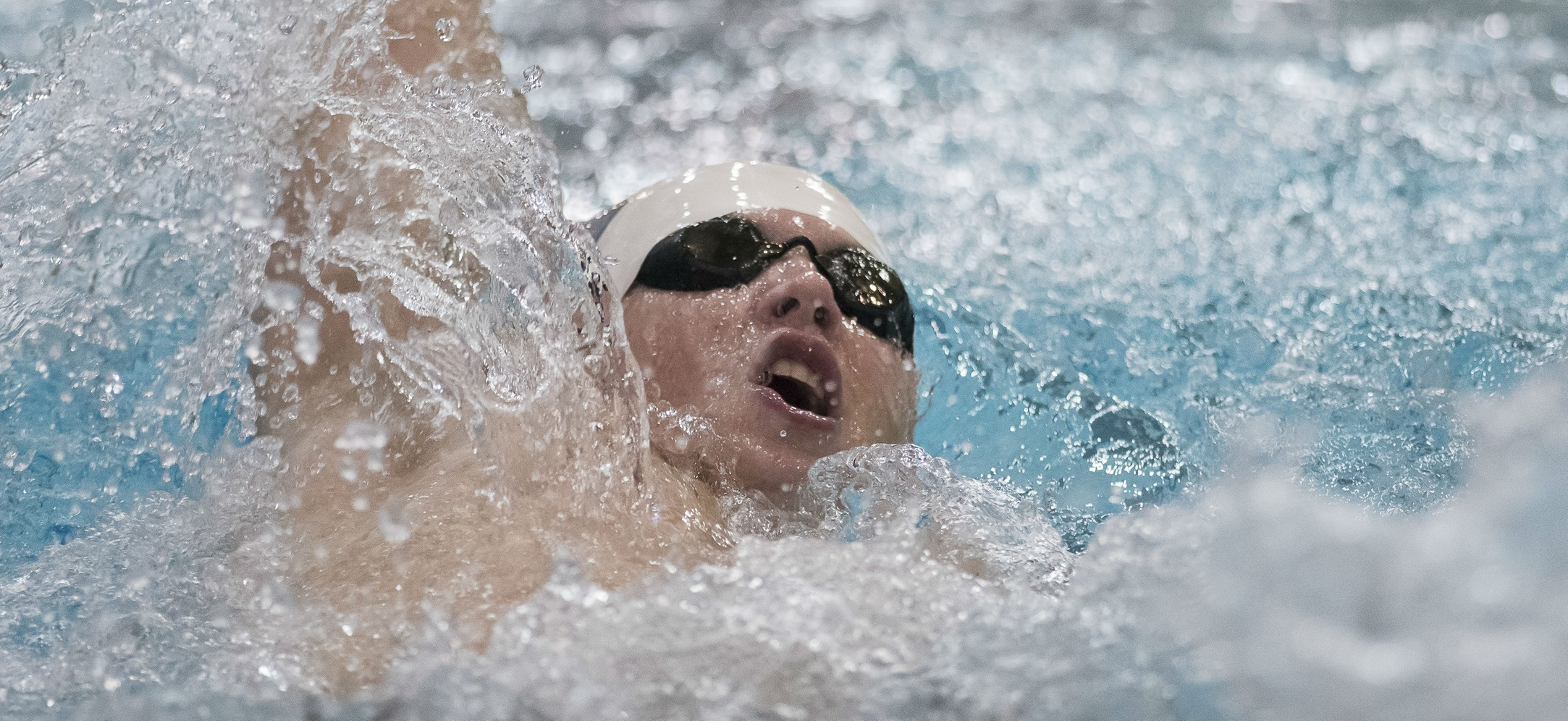 Men's Swimming and Diving Falls at Babson, 172-121