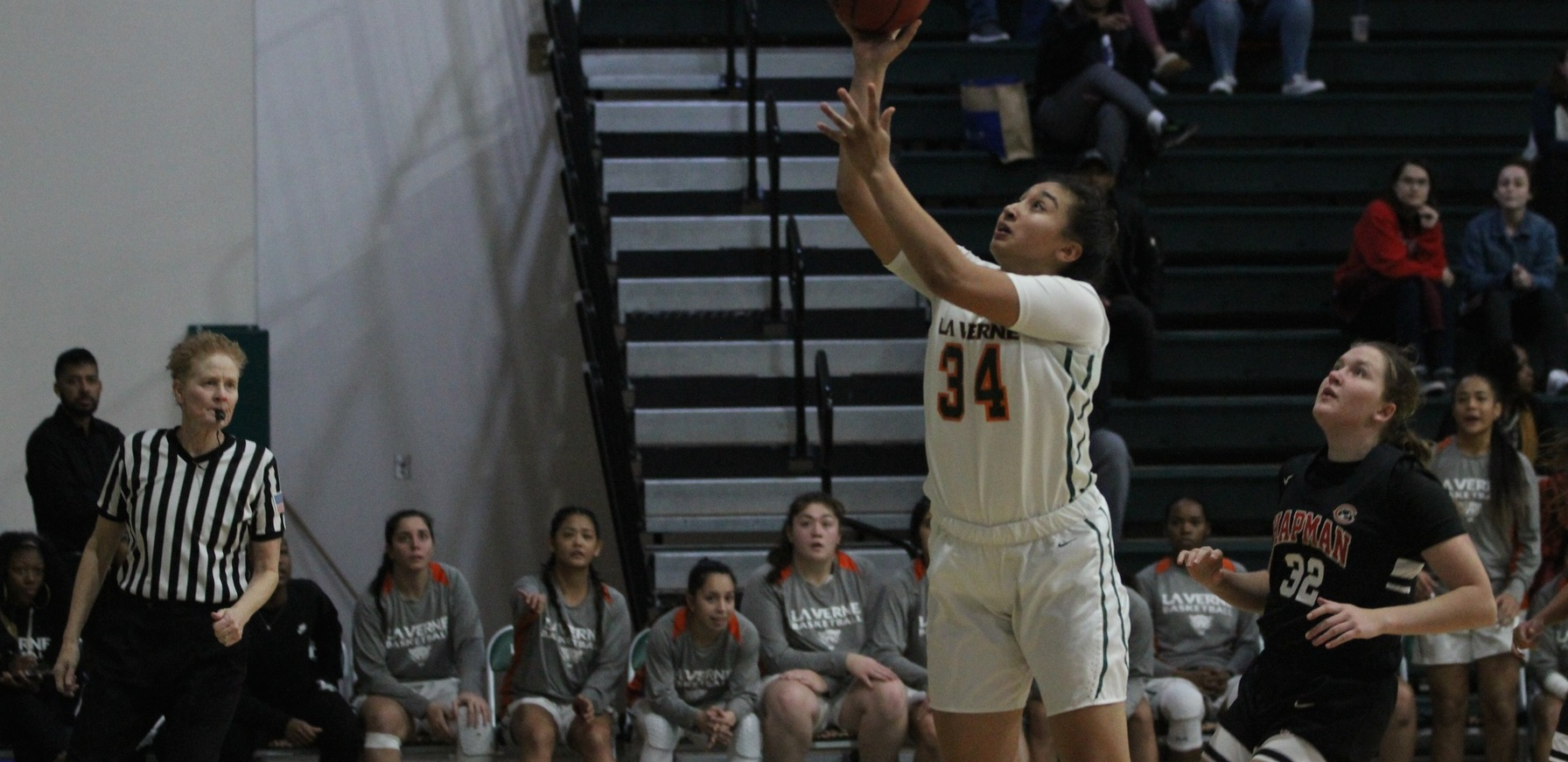 Women's Basketball surges past Regals in 4th