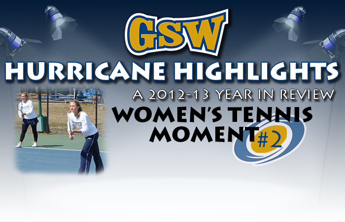 GSW Women's Tennis Hurricane Highlight #2: SIAC Success
