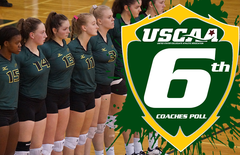 Volleyball Jumps to Sixth in Latest USCAA Rankings