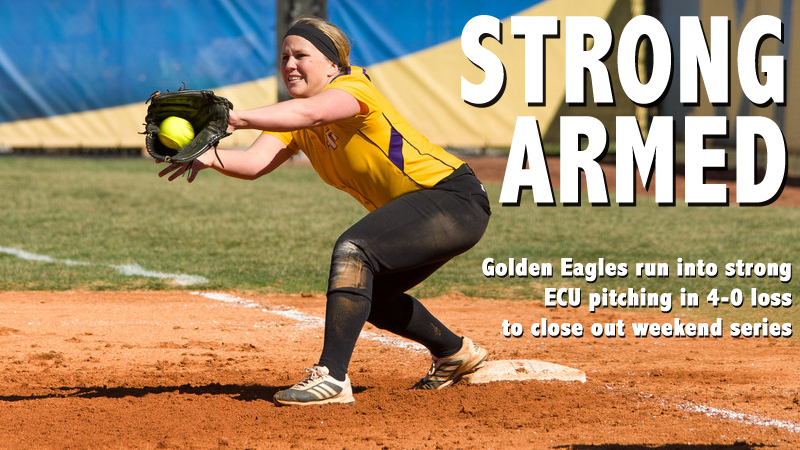 Golden Eagles blanked in 4-0 loss to close out weekend series with ECU