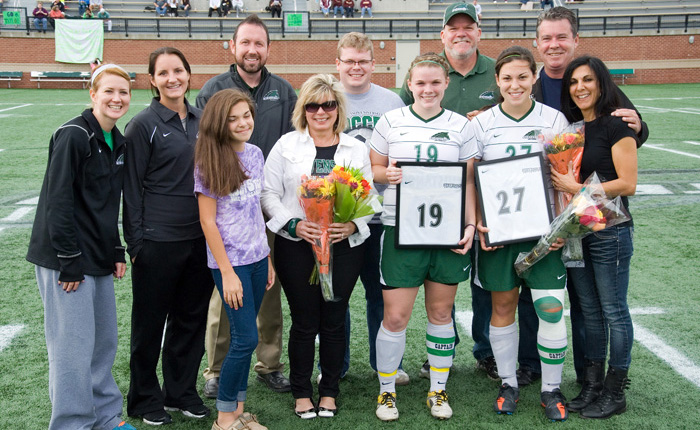 Meaghan Williams Nets a Pair in Defeat of Alvernia on Senior Day