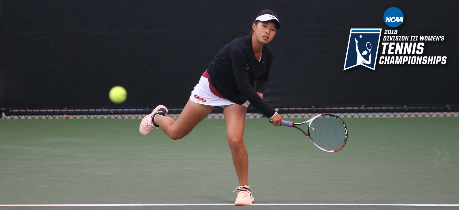 Nicole Tan and the Athenas completed the 2018 season on Friday in the NCAA doubles tournament. (photo credit: Alisha Alexander)