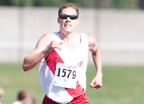 Senior Brian Krusell was named the Centennial Conference Runner of the Week<BR>