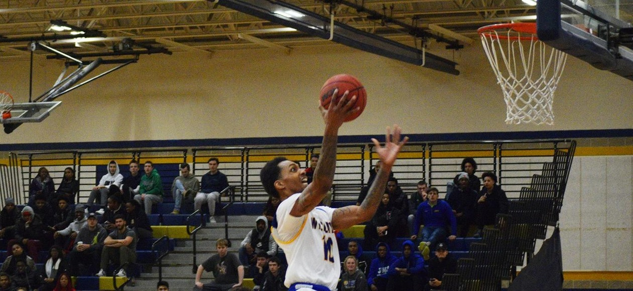 JWU Men's Basketball too Much for Anna Maria 81-51