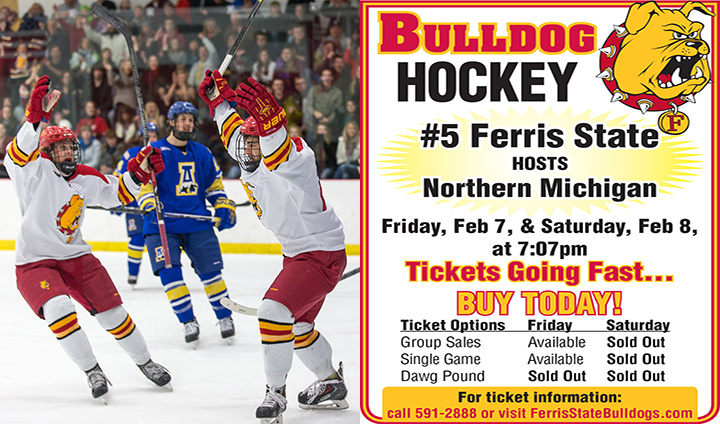 Last Chance To Buy Tickets In Advance & Save $$$ As Bulldogs Host NMU Friday