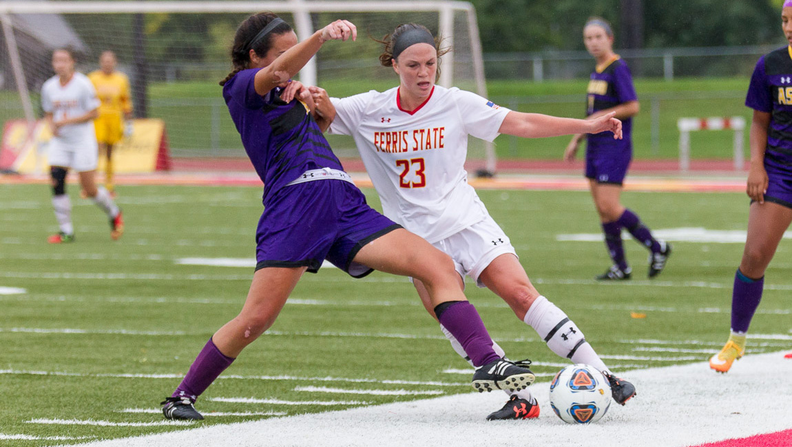 Two Second-Half Goals Lift Storm Over Bulldogs In GLIAC Soccer Decision