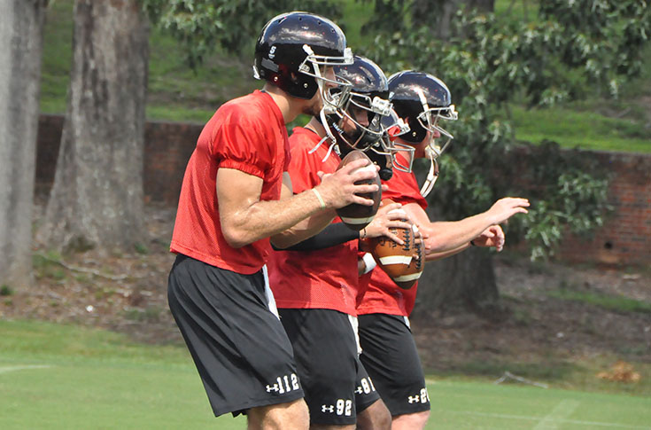 Football: Panthers go through first practice for 2016 season