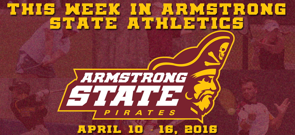 This Week In Armstrong State Athletics, 4/10 - 4/16